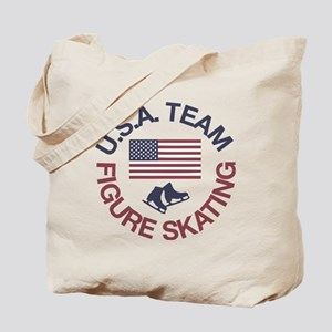 U.S.A. Team Figure Skating Tote Bag